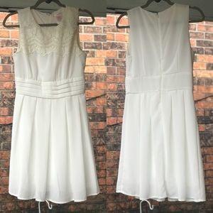 ModCloth Esley V.I.Pleased Dress in White